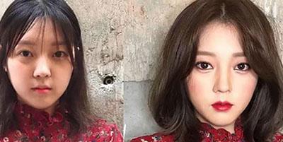 کمپین این روزهای دختران کرهای/ لوازم آرایشیات را خرد کن